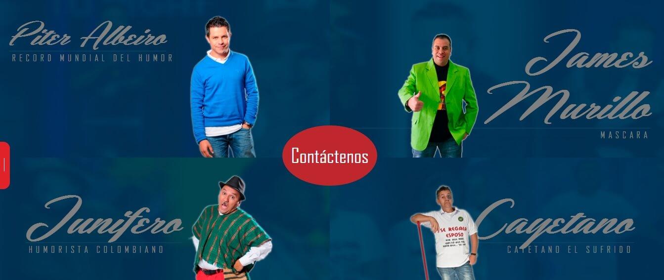 comediantes colombianos