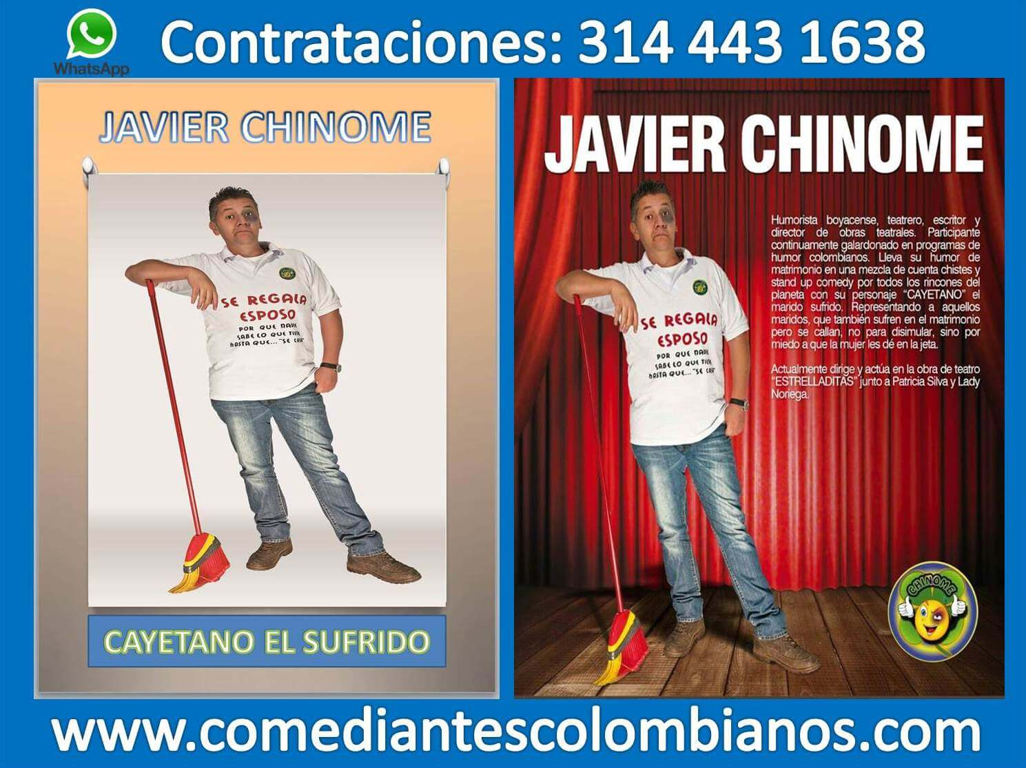javier chinome sabados felices